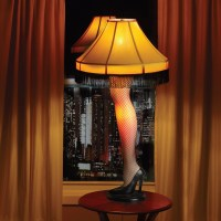 Amputated Leg Lamp (WARNING: Creepy Photo)