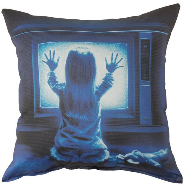 Horror Movie Pillows Rest in Pieces