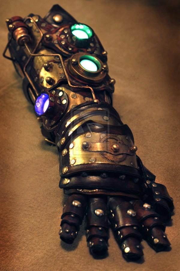 Iron Man Style Steampunk Gauntlets Tony Stark' Arm
