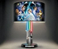 Star Wars Lightsabers Lamp: The Light-up Side of the Force ...