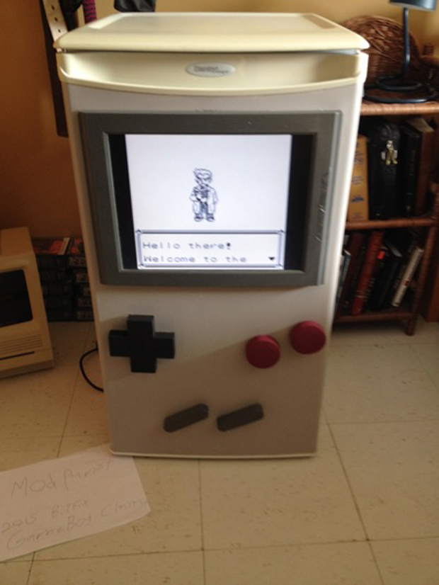 Game Boy Refrigerator Mod Now Youre Playing with Freon