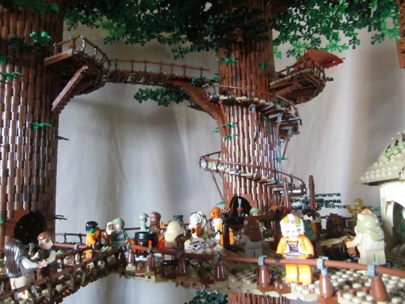 3 Foot Tall LEGO Star Wars Ewok Village Is Taller than