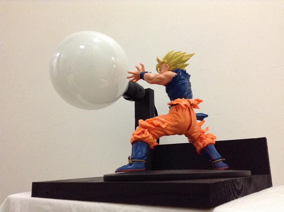 Dragon Ball Z Action Figure Lamps Lamelamelaaaamp