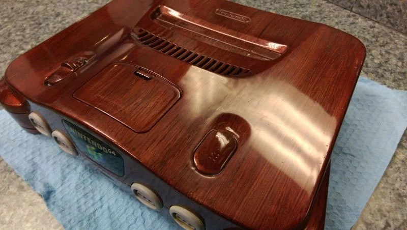 Airbrush Wood Stain