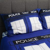 Doctor Who TARDIS Bedding Is Comfier on the Inside - Technabob