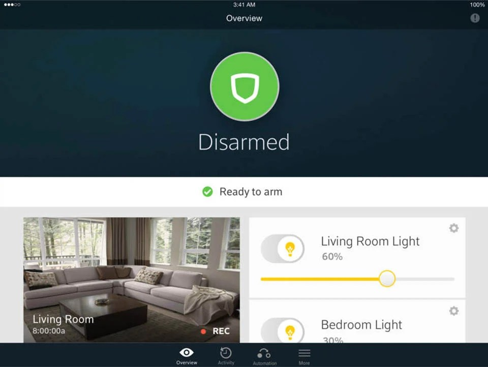 Security Systems Simple Home Camera