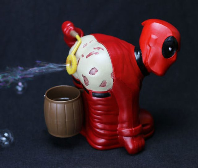 Instructables Contributor Britt Michelsen Posted A Step By Step Guide For Turning One Of Those Rude Bub L Breezer Toys Into A Deadpool Toy Of Farting