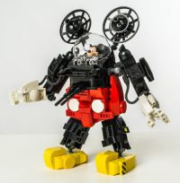 This LEGO Mickey Mouse Mecha Is Ready to Pulverize Pete ...