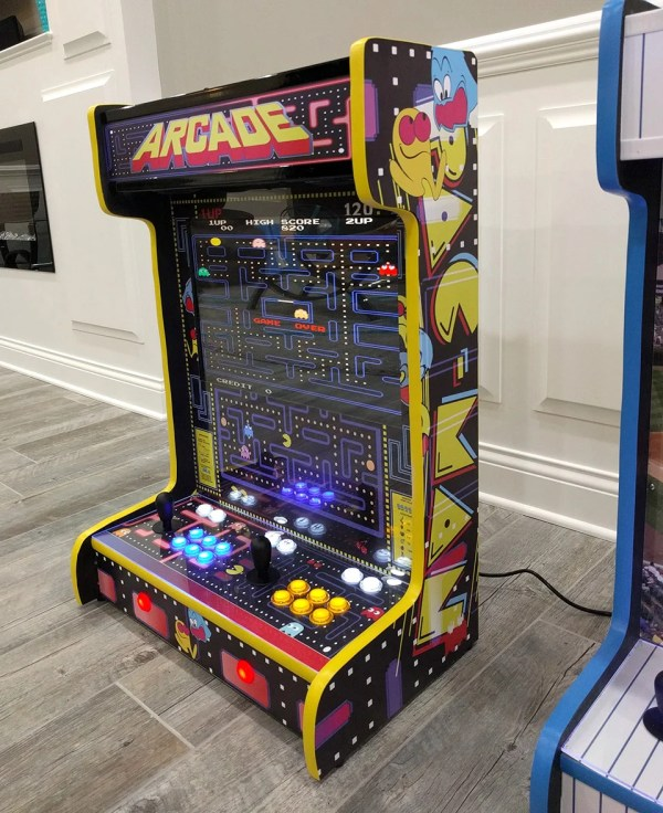 Wall-mounted Arcade Cabinets Save Quarters And Space