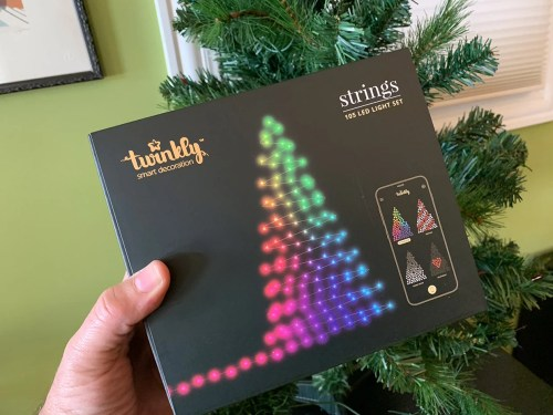 small resolution of i got my hands on a set of twinkly s latest generation lights to see what they could do each twinkly light string is strung with dozens of bright rgb leds