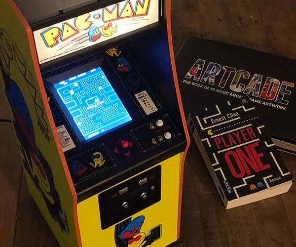 14Scale PacMan Arcade Machine Needs No Quarters