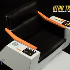Star Trek Captain S Chair Plans Picture Frame Gizmodo Cz To The Days When Was Truly An Action Packed Western Set In Space They Don T Make Them Like James Kirk Anymore And This Is His Seat