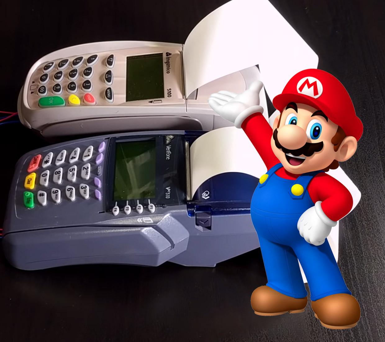 credit card machines perform