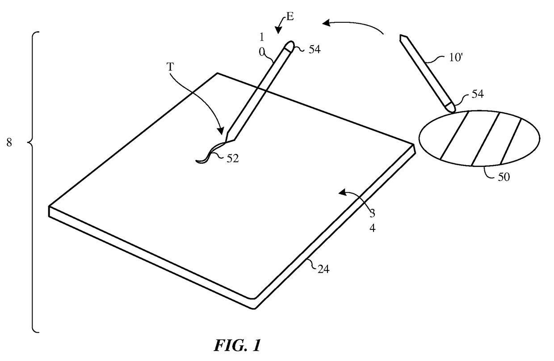 Apple Pencil Patent Hints at Real World Color Sampling