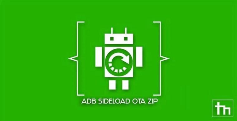 sideload ota update zip android