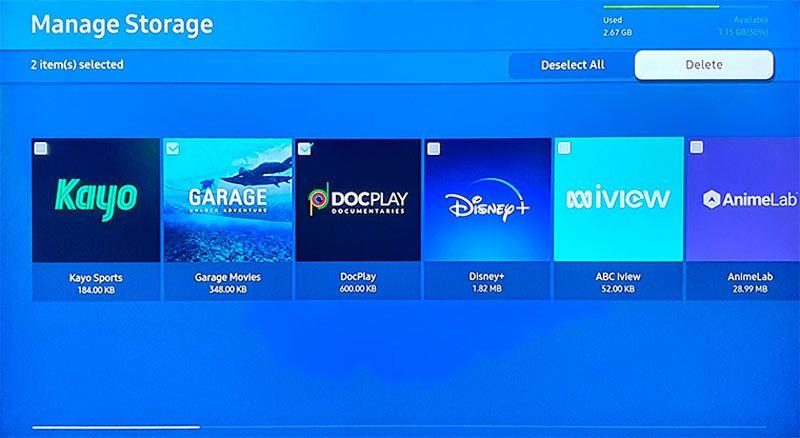 установленные приложения на samsung smart tv