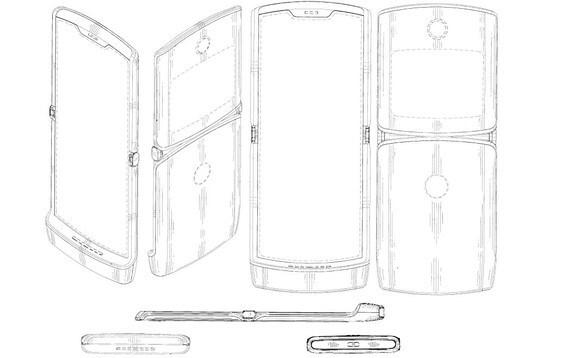 The Motorola RAZR foldable screen flip phone could be