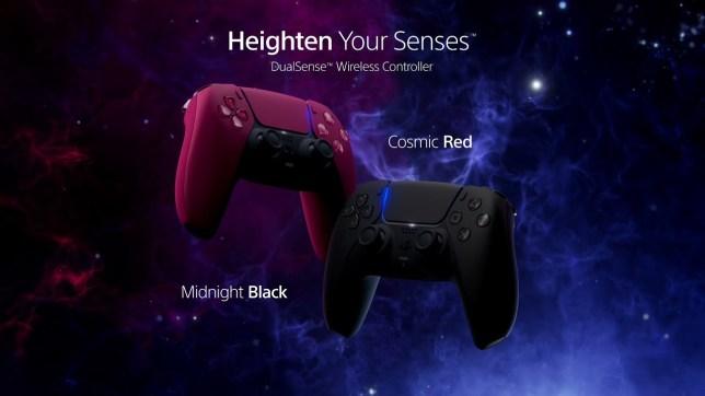 I nuovi colori dei controller DualSense