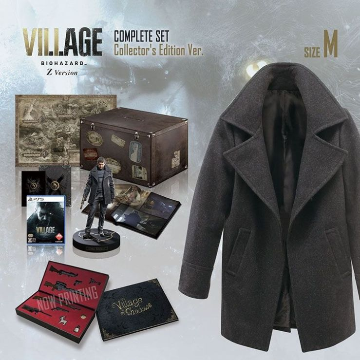 Resident Evil Village Complete Set Collector's Edition Pics