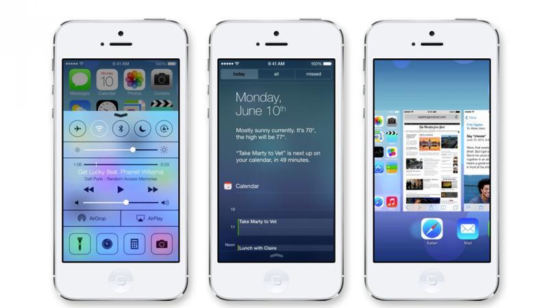 iOS 7: 지금 알아야 할 주요 사항