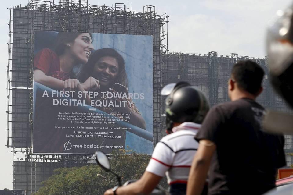 Facebook 의 무료 인터넷 서비스 'Free Basics' 인도에서 중단 위기