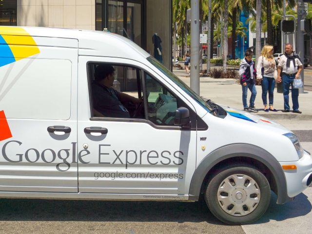 구글 익스프레스, 식료품 배달 서비스 개시