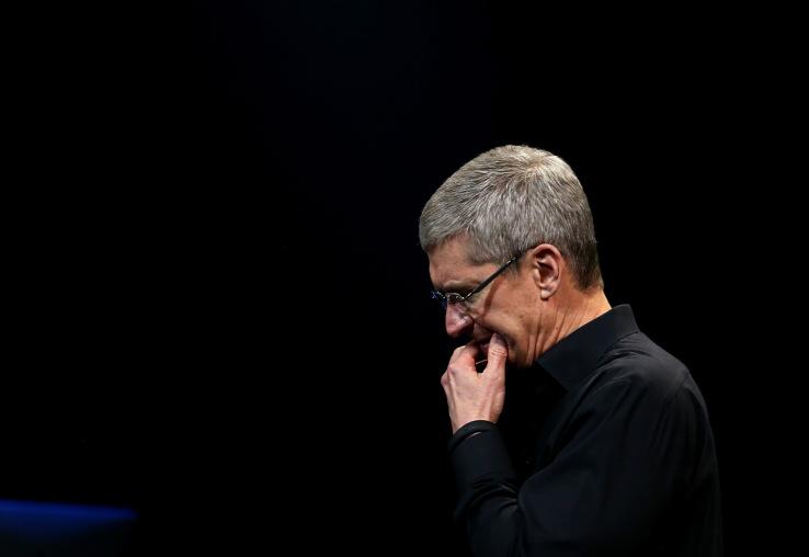 애플 Q2 손익보고 후 주가 폭락