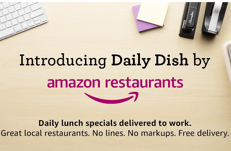아마존, 점심 배달 서비스 시작