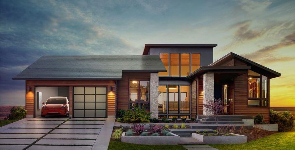 일론 머스크, 보기좋은 태양광 지붕 공개