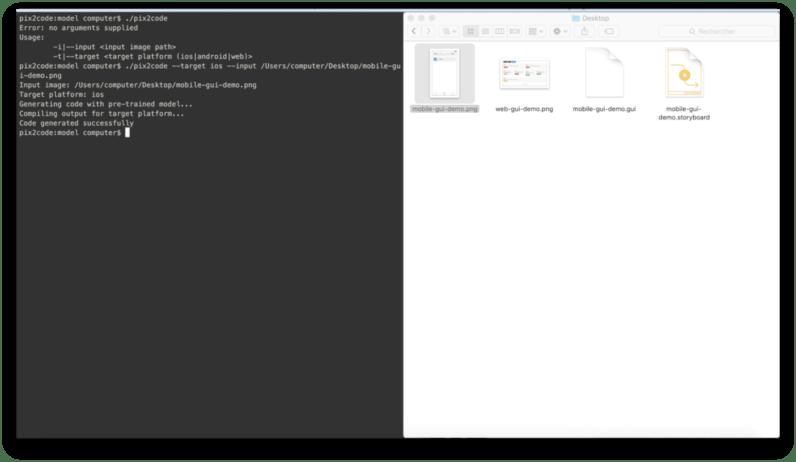 Pix2Code, 디자인 스크린샷에 따라 코드를 만들어주는 인공지능 툴