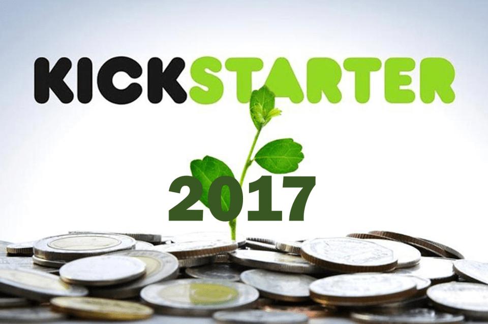 킥스타터(Kickstarter)의 2017년 10대 빅히트 제품
