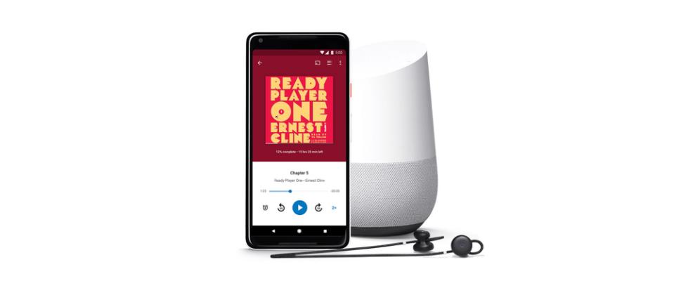 오디오북 서비스 출시한 구글, Audible 따라잡을까?