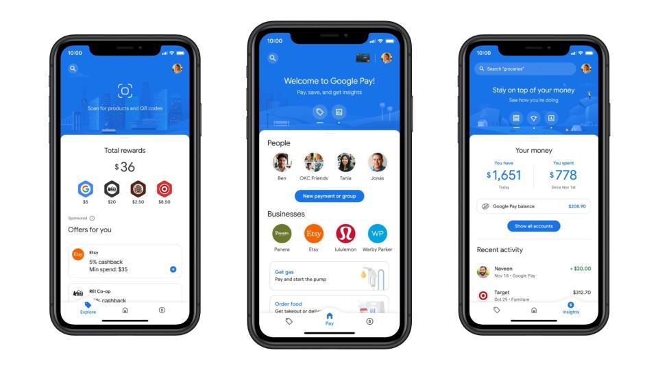 구글 페이, 소셜 기능을 강화한 대규모 리디자인 발표