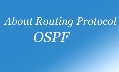 About OSPF