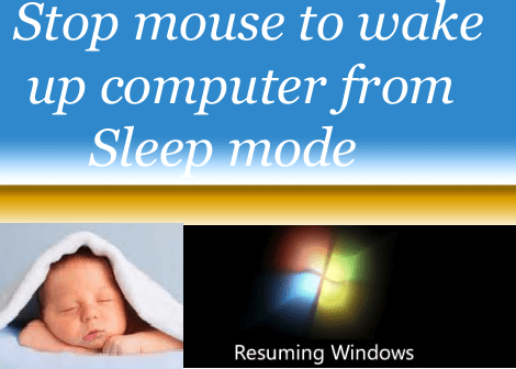 Stop Mouse From Waking Up Computer