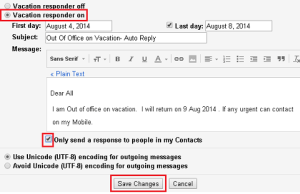 Setup Automatic Email Reply in Gmail
