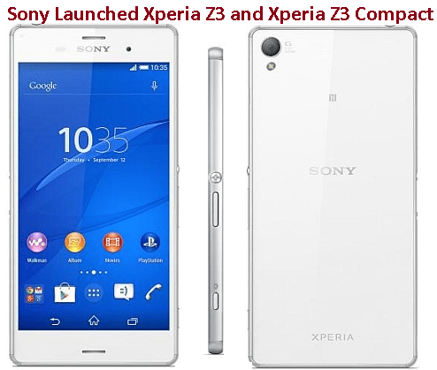 Sony Launched Smartphones