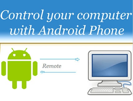 Control PC with Android Phone