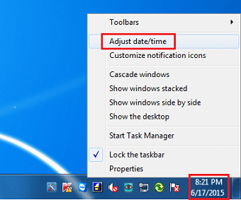 Add Multiple Time Zone Clock on Windows 7