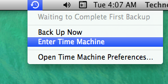 Backup Your Mac OS With Time Machine