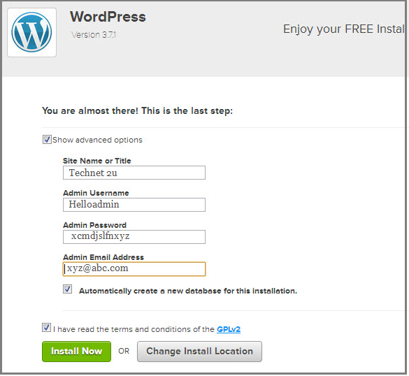 Setup Your Own WordPress Blog on BlueHost