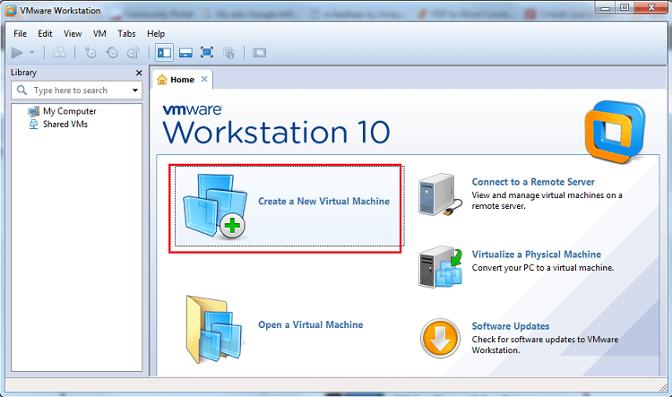 Create Virtual Machine In VMware