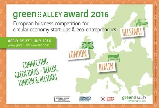 Green Alley Award 2016 Bild: Green Alley Investment GmbH