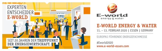 E-world 2020 Banner