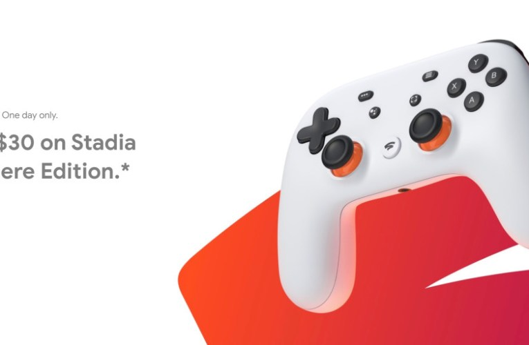 Google discounts Stadia Premiere Edition to $99 in first-ever sale