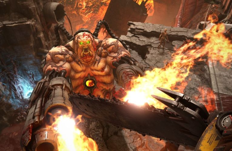 Doom Eternal at 8K sends a $2,500 graphics card to hell