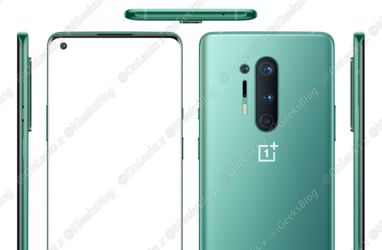 Take a look at the OnePlus 8 Pro 5G in this gorgeous green color