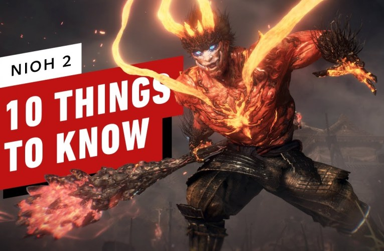 10 Things You Need to Know About Nioh 2