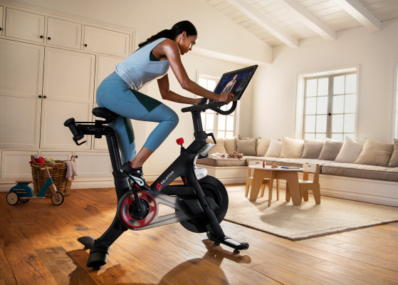 Peloton stock spikes as the at-home fitness company finds potential customers stuck at home