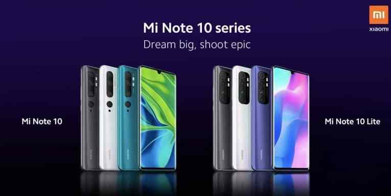 Mi Note 10 Lite will be announced on April 30th